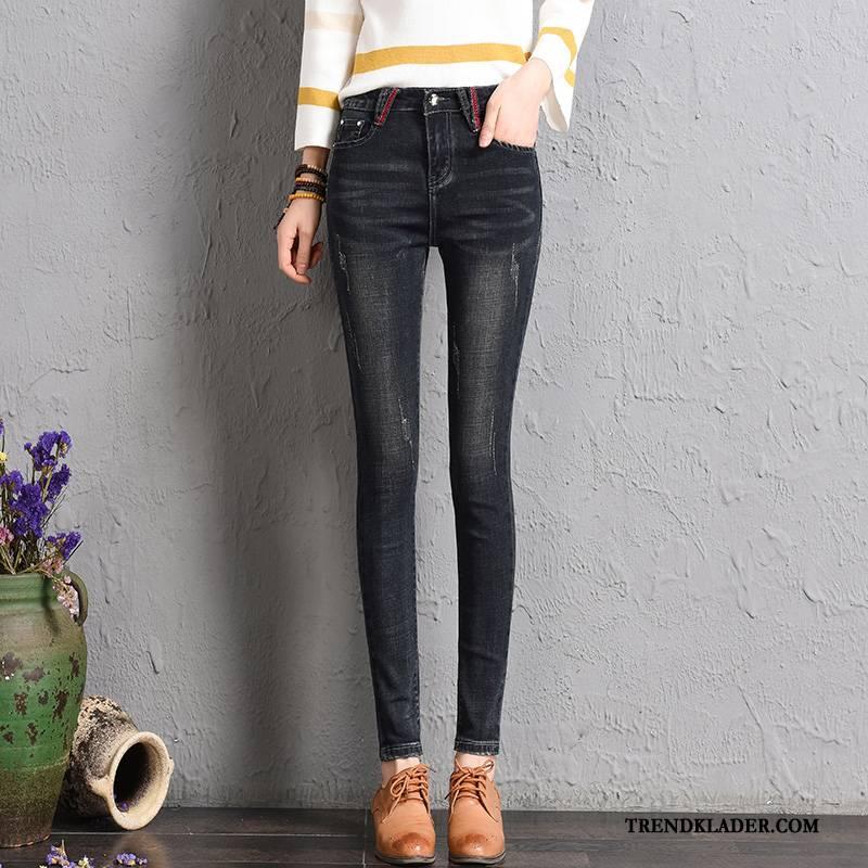stretch jeans för stora