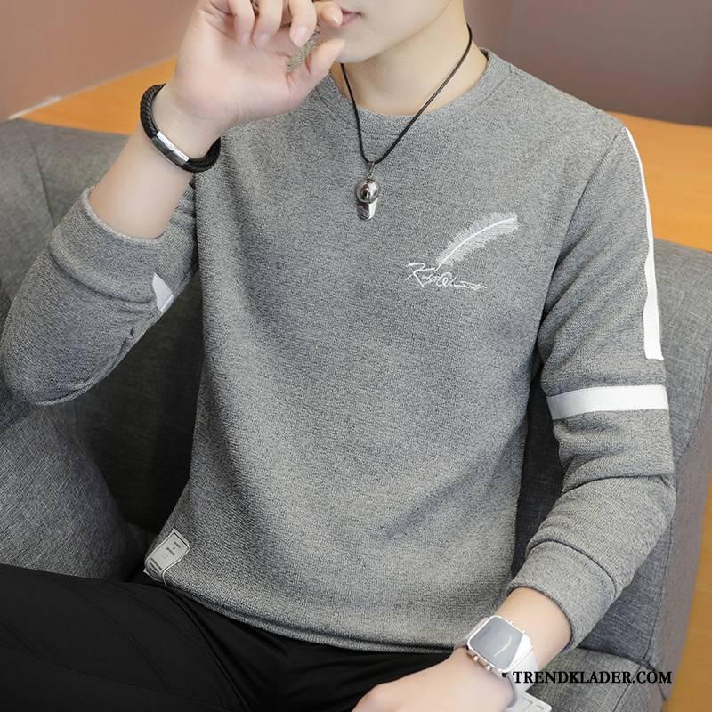 Långärmad T shirt Herr Kortärmad Sommar Student Halv Ärm