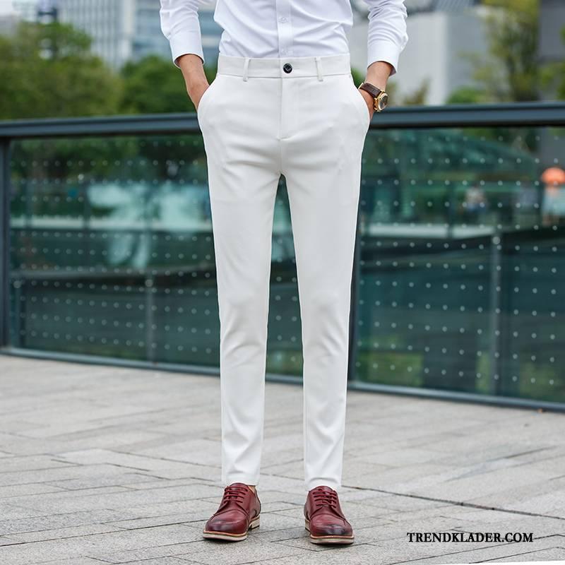 till vita byxor herr