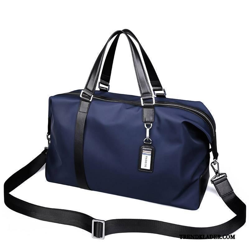 Handväska Herr Casual Portfölj Business Resa Messenger Väska Mörkblå ... 6eb26f87ad299