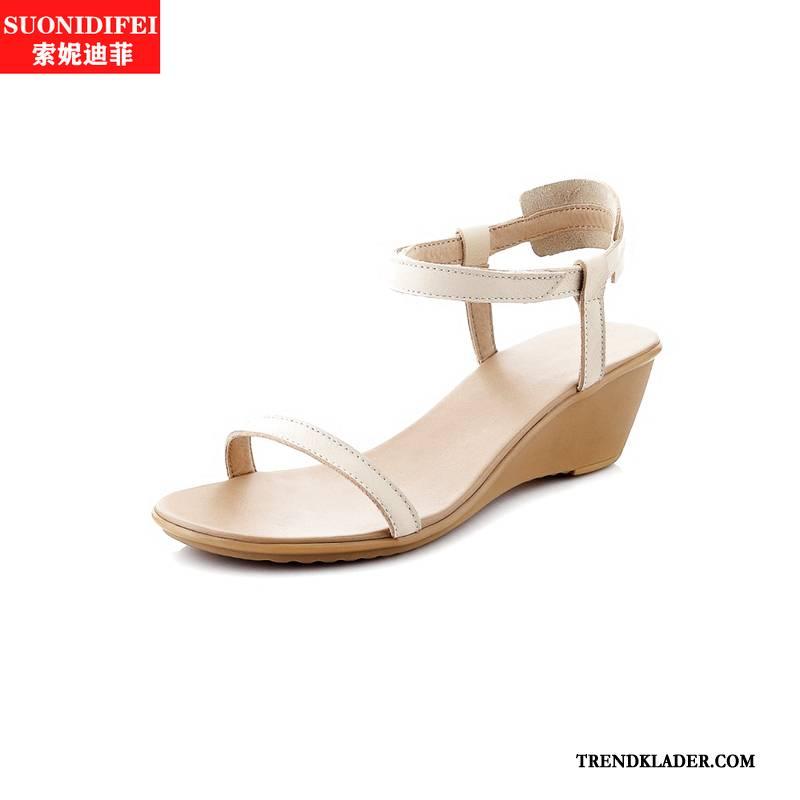 Wedge sommar mode sko Outlet Skor, Kostymer och klänningar