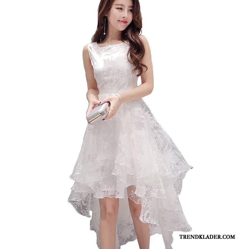 vita klänningar dam