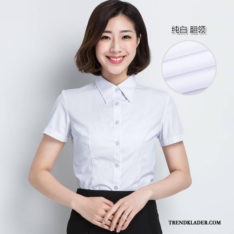 skjortor dam stora storlekar