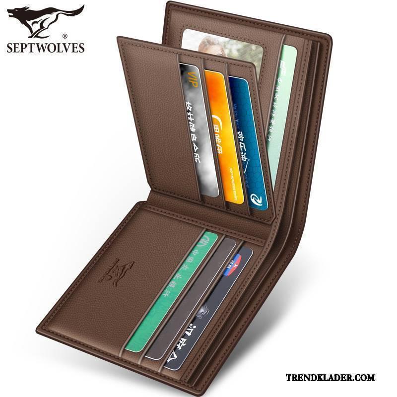 herr plånbok med sedelklämma