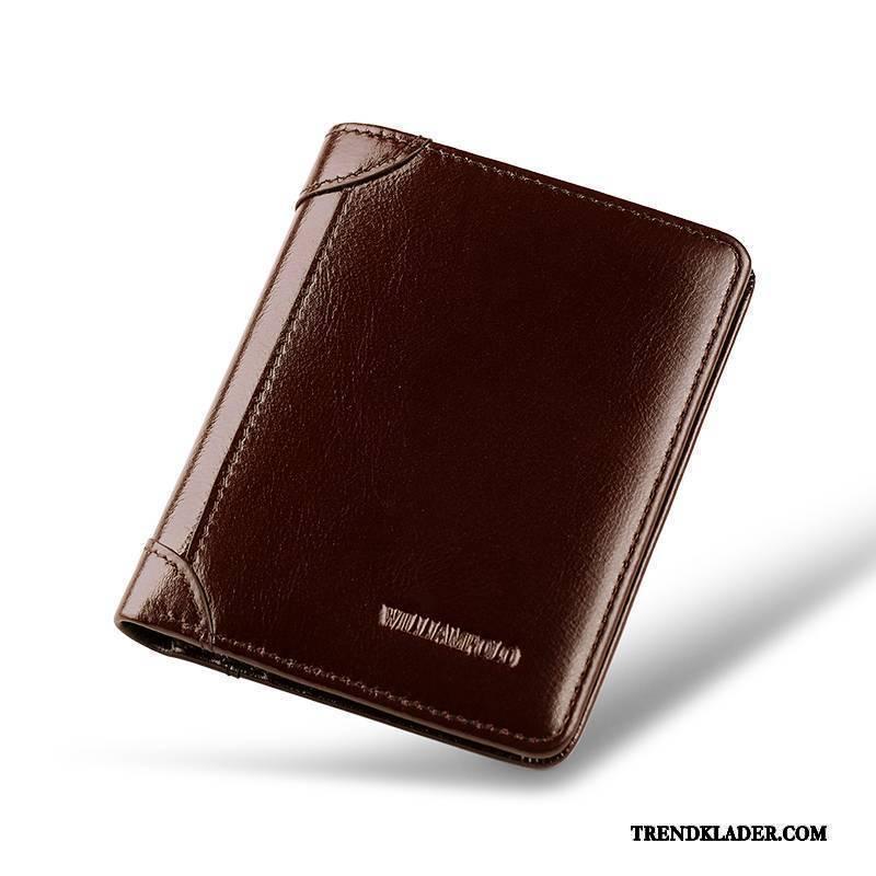 plånbok brunt läder