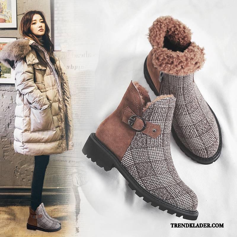 skor vinter dam